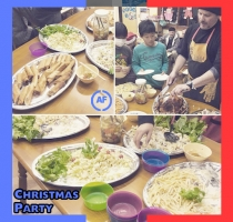 Ade Falohun -blogging - Christmas Dinner in Japan