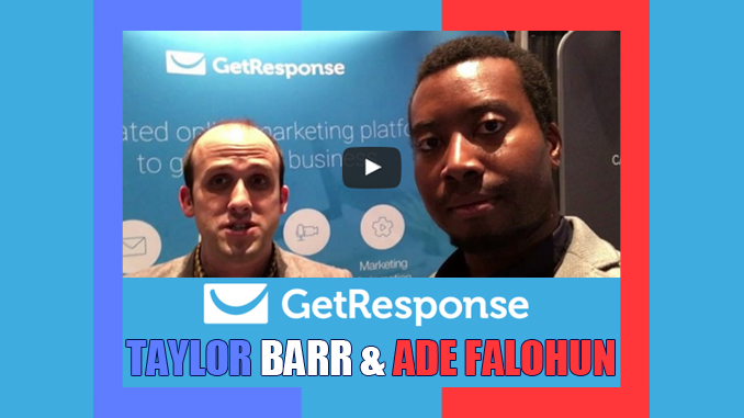 GetResponse team member interview with Taylor Barr Affiliate Manager making money online with email marketing as a freelancer