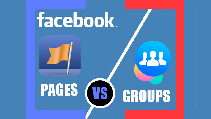 This image is from Ade falohun dot com. Which should you create Facebook pages or groups for branding yourself and marketing